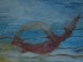 bruine-schelp-zwevend-in-water